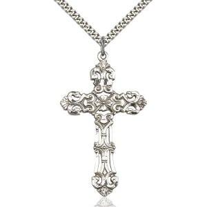 Sterling Silver Cross 0648YSS