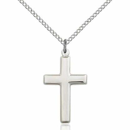 Christian Sterling Silver Cross Pendant