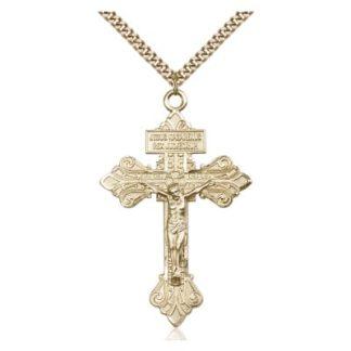 Gold Pardon Crucifix