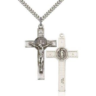 St-Benedict Crucifix Pendant