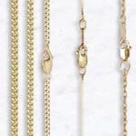 14K Gold Chains & Necklaces