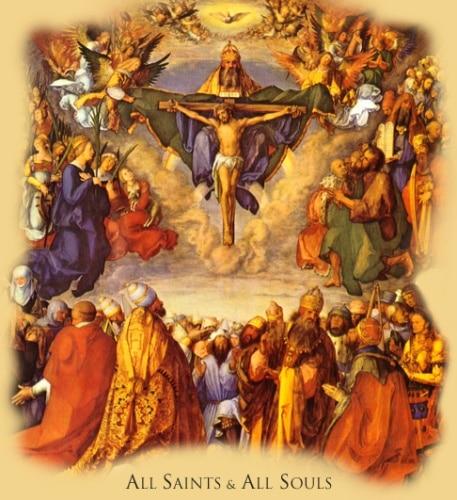 Catholic Christian Holiday All Saints Day