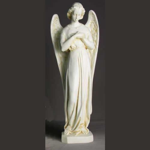 Antique White Catholic Statues
