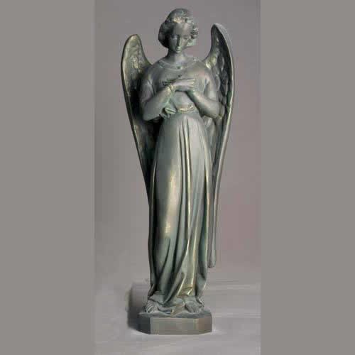 Catholic Green Bronze Statues