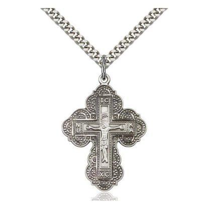 Saint Irene Cross Pendant Wearable Crucifix