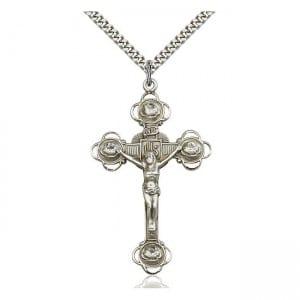 Fleur-de-Lis crucifix