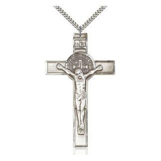 St Benedict Crucifix Big Pendant