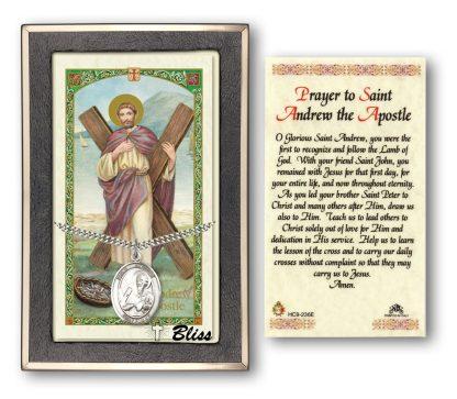 Saint Andrew the Apostle Prayer Card