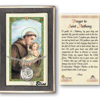 Saint Anthony of Padua Prayer Card