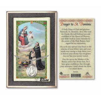 Saint Dominic Prayer Card