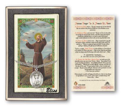 Saint Francis of Assisi Saint Holy Card