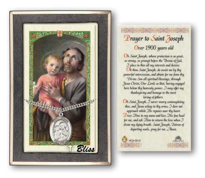 St Joseph Prayer Card