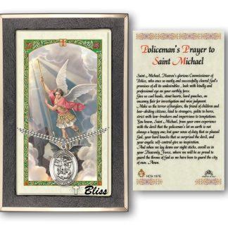 Saint Michael the Archangel Holy Card