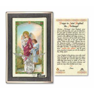 St Raphael the Archangel Prayer Card 7092 PC7092 7092SSPC70
