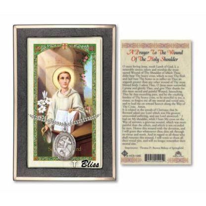 Saint Bernard of Clairvaux Prayer Card