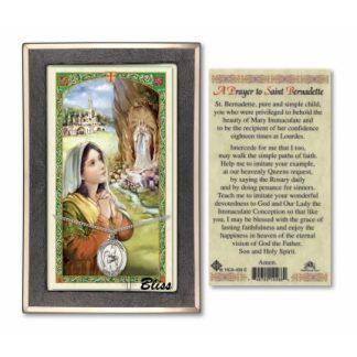 Prayer to Saint Bernadette Prayer Card