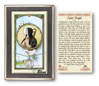 Saint Brigid of Ireland Prayer Card