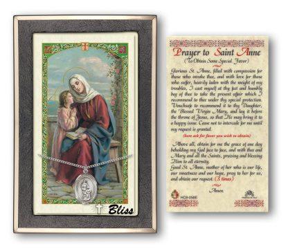 St Anne Prayer Card