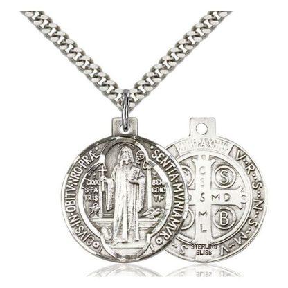 Saint Benedict Medal Pendant