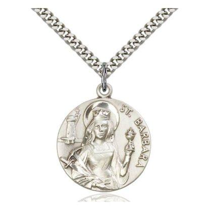 Saint Barbara Medallion