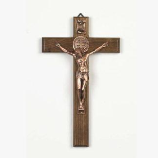 Saint Benedict Wall Crucifix