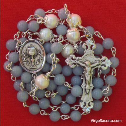 Angelite Chalice Rosary