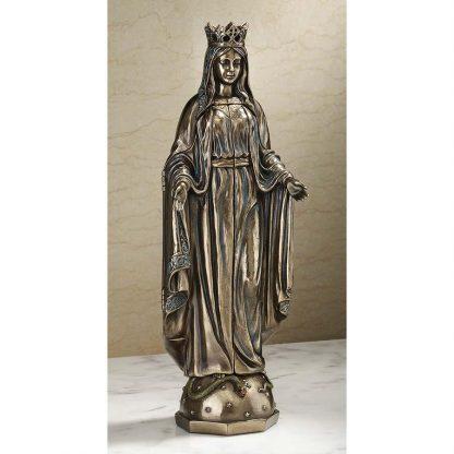 19th Century Replica Three Panel Pieta Virgin Mary Jesus
