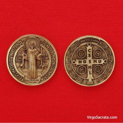 St Benedict token coin medal