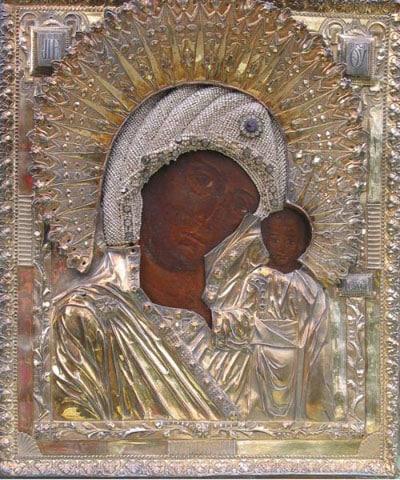 Virgin of Kazan. Казанская Божья Матерь