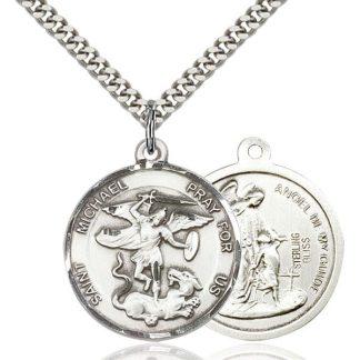St Michael Medal Pendant