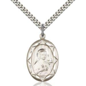 St Theresa Medal Pendant