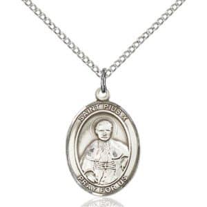 Saint Pius X medal pendant
