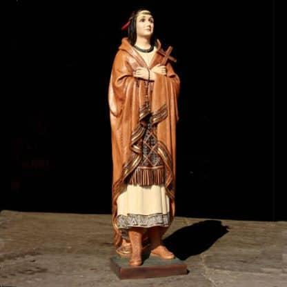 Saint Kateri Tekakwitha Statue