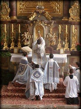 Quo Primum on Celebration of Masses