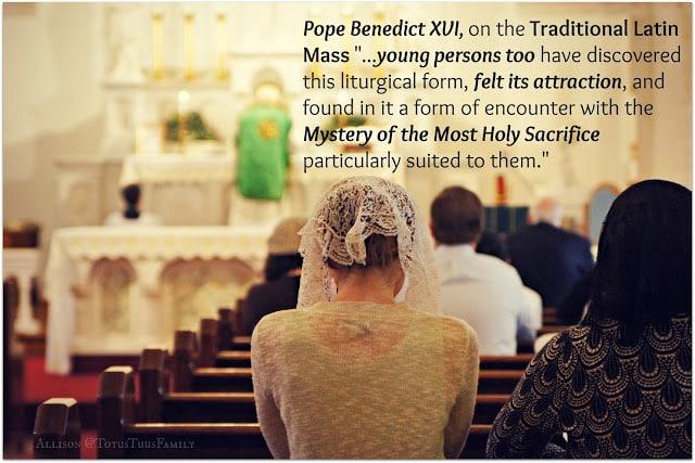 Catholic Mass Modesty