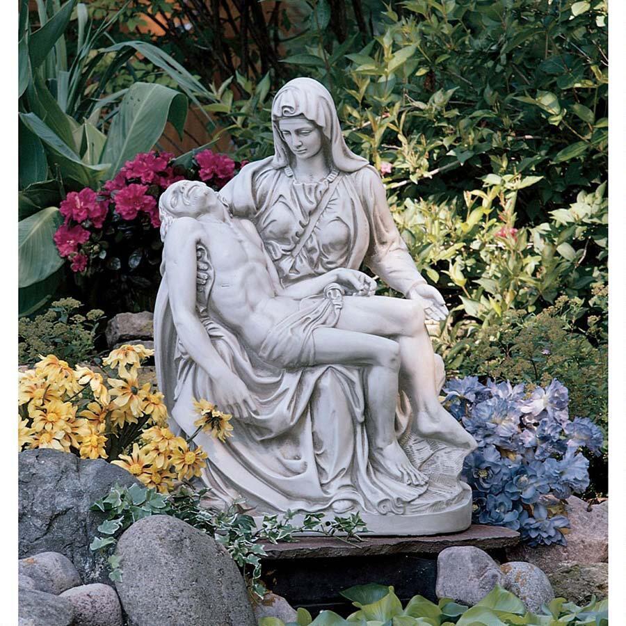garden sanctuary pieta sculpture reproduction by michelangelo on sale. Black Bedroom Furniture Sets. Home Design Ideas