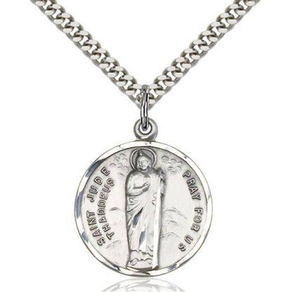 St Jude Medal Pendant