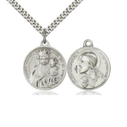 Our Lady of Czestochowa Pendant Necklace