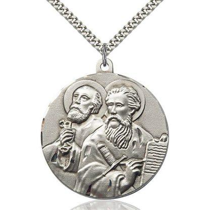 St Peter St Paul Medal Pendant