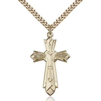 Mosaic Gold Cross