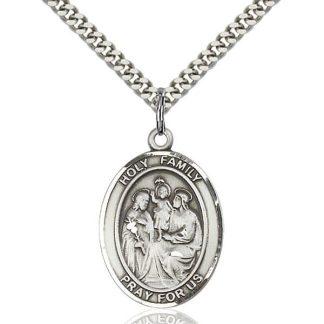 Holy Family Medal Pendant