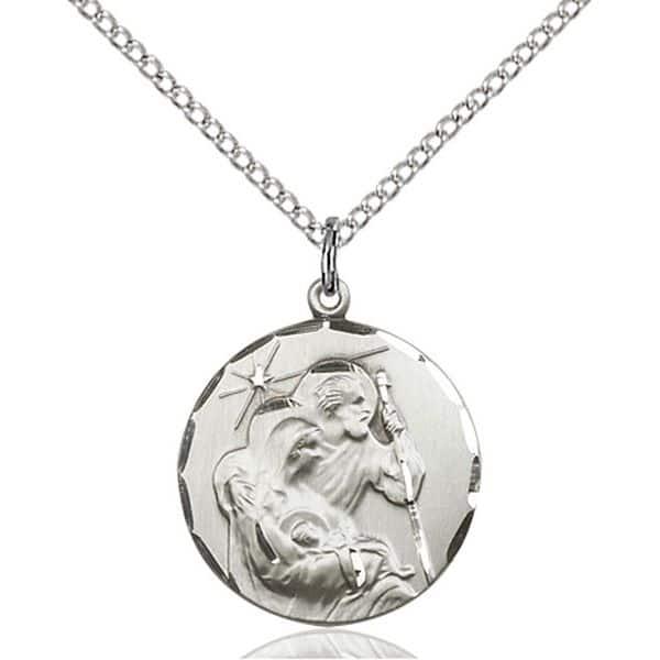 14k white gold pendant of holy family christian jewlery 14k white gold pendant aloadofball Gallery