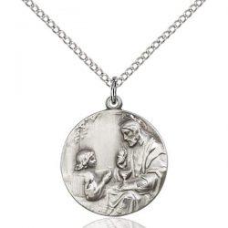 Christ & Child Medal Pendant