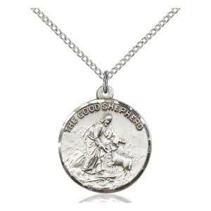 Good Shepherd Medal Pendant 4264