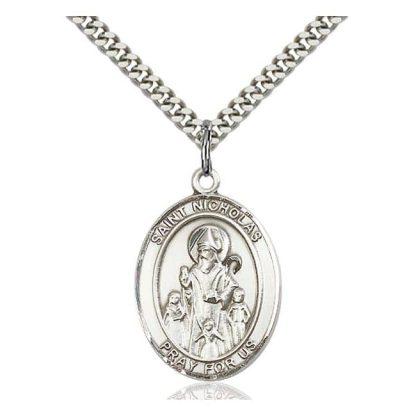 Saint Nicholas Medal Pendant