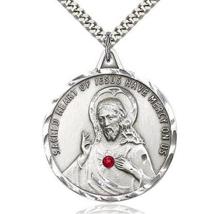 Sacred Heart of Jesus Scapular Medal