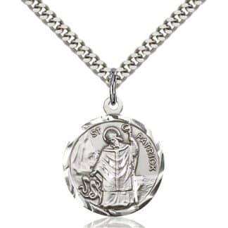 St Patrick Medal Pendant