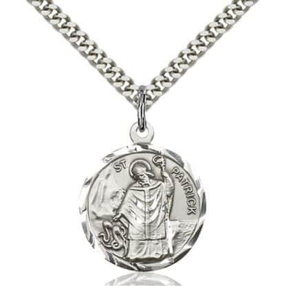 Saint Patrick Medal Pendant