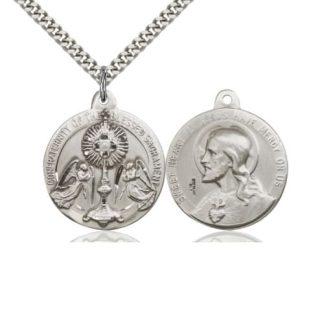 Blessed Sacrament Medal Pendant