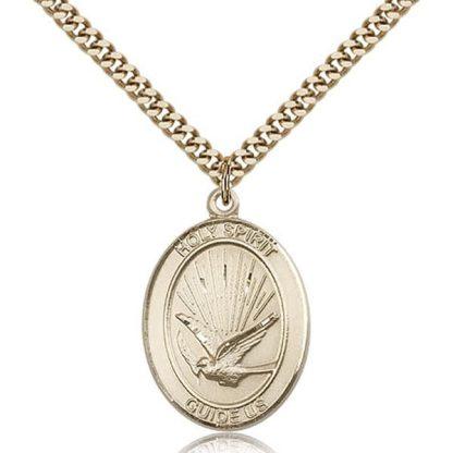 Holy Spirit Confirmation Gold Medal
